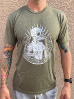House Berg Military Green T-Shirt