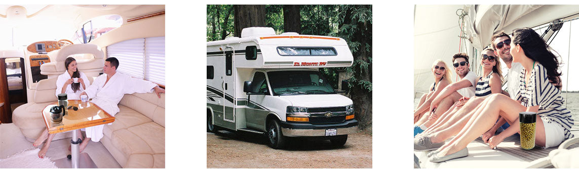 Boats-RV-Airports and Tightvacs. Great for storing coffee or dry goods.
