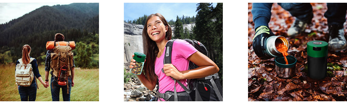 Picnics & Camping are perfect for Tightvacs. Great for day hikes or weekend getaways.