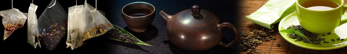 Tea Bags, Teapot, Teacup