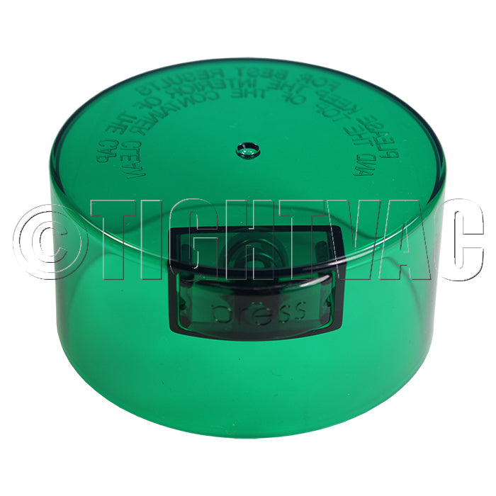 Replacement Cap for TV3 Tightvac - 0.57L Green Tint