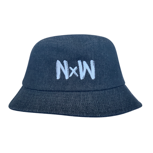 NW Bucket Hat - Charcoal - Niu x Waves