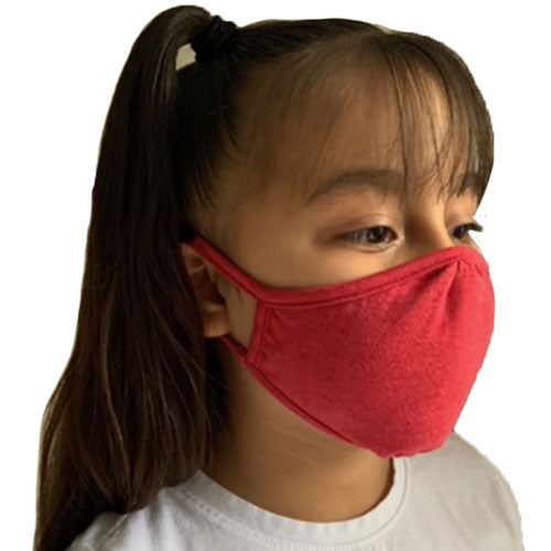 Eco Friendly 2 Layers Cotton Youth Face Mask