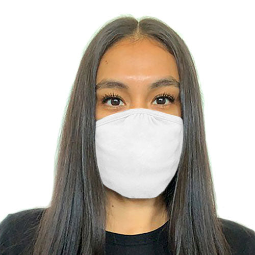 Eco Friendly 2 Layer Blended Fabric Adult Mask