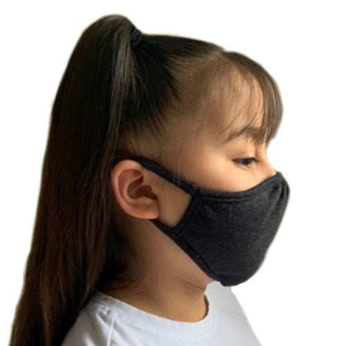 Eco Friendly 2 Layers Blended Fabric Youth Face Mask