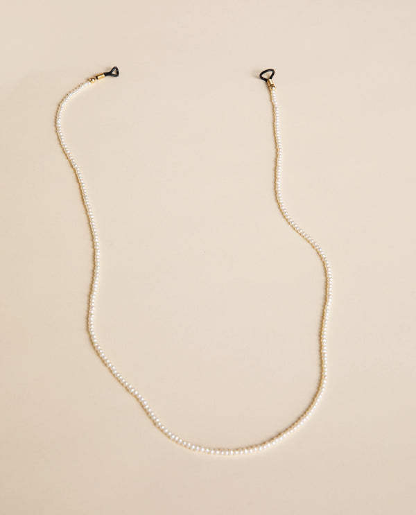 Small real pearl frame-chain