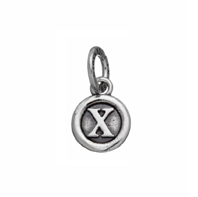 Charm in Argento 925 Lettera