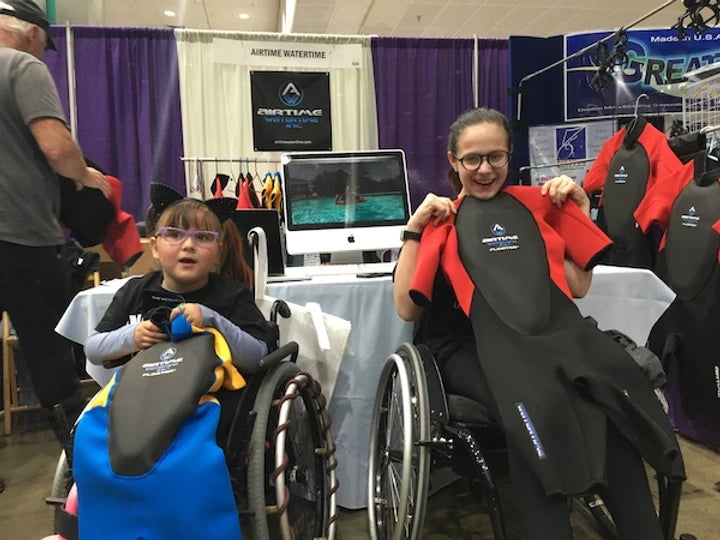 Airtime Watertime Makes A Splash at 2018 Los Angeles Abilities Expo with Tech Expert Paul Lane