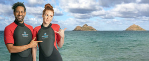 Flotation wetsuit, float anywhere