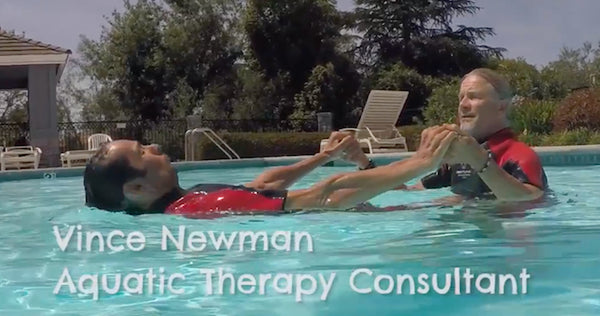 "Physical Therapist Vince Newman Says, ""Floater Is a Valuable Therapy Tool"""
