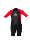 Women's float suit with built-in flotation