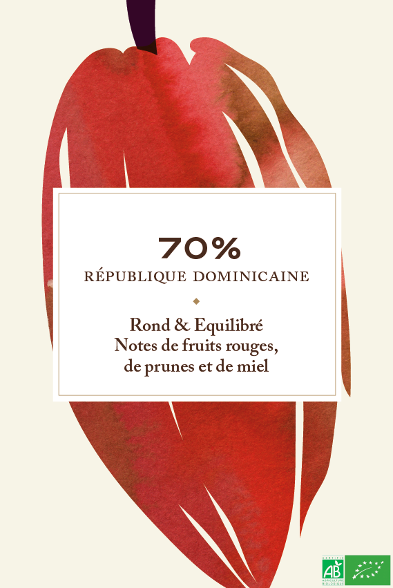 70% République Dominicaine bio