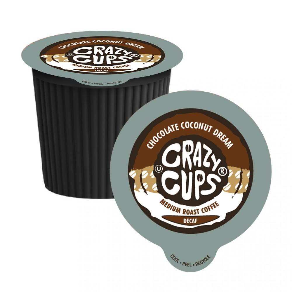 Crazy Cups Chocolate Coconut Dream Decaf 22ct.