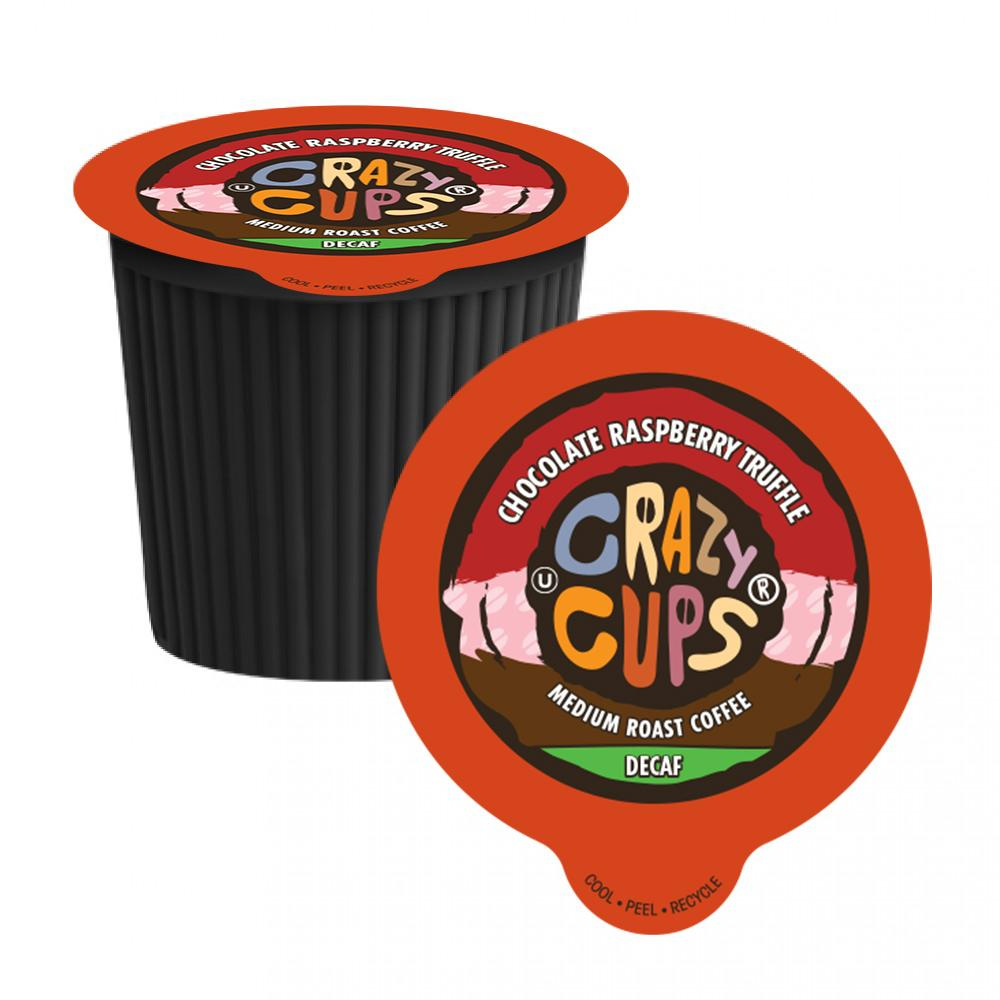 Crazy Cups Chocolate Raspberry Truffle Decaf 22ct.