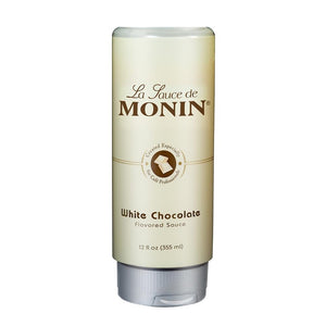 Monin White Chocolate Sauce 12 oz