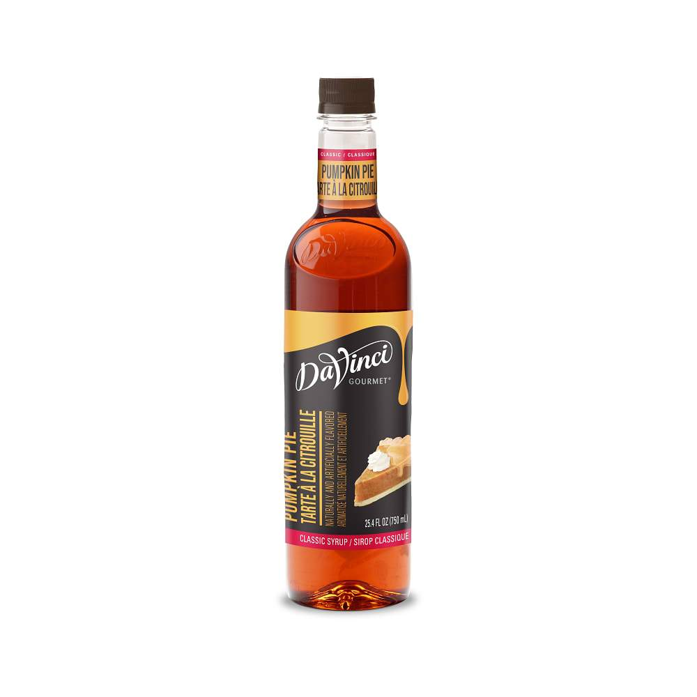 Davinci Pumpkin Pie Syrup 750ml