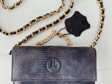 Load image into Gallery viewer, 90s Grey Charcoal Suede Leather Mini Shoulder bag