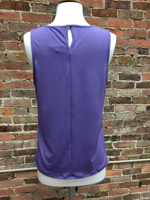 Dusty Purple Sleeveless Top