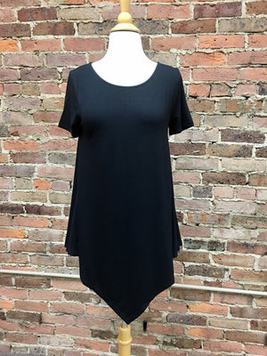A-line Top In Black