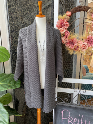 Cozy Cardigan in Slate Grey
