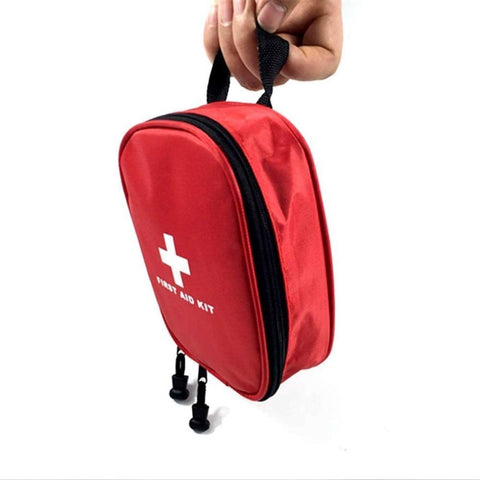17PCS/SET Compact Size Emergency Survival Bag Outdoor Camping Travel Car First Aid Bag First Aid Medical Bag Survival Kit Hot