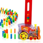 80pcs Domino Game Building Blocks Car Stacking Set