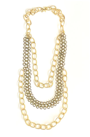 Layers - Layered, Chain Necklace