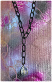 Breakthrough - Decorating Chain and Faceted, Crystal Necklace