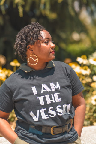 I Am The Vessel Cotton T-shirt (Women)