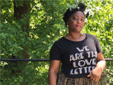 We Are The Love Letters  - Fitted T-shirt (Women)