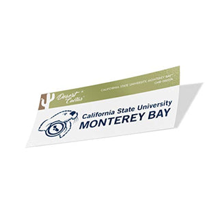 California Cal State University Monterey Bay CSUMB Otters NCAA Vinyl Decal Laptop Water Bottle Car Scrapbook (Sticker - 00037A)