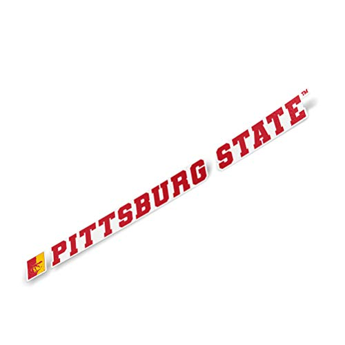 Pittsburg State University Gorillas NCAA Name Logo Vinyl Decal Laptop Water Bottle Car Scrapbook (15 Inch Sticker)