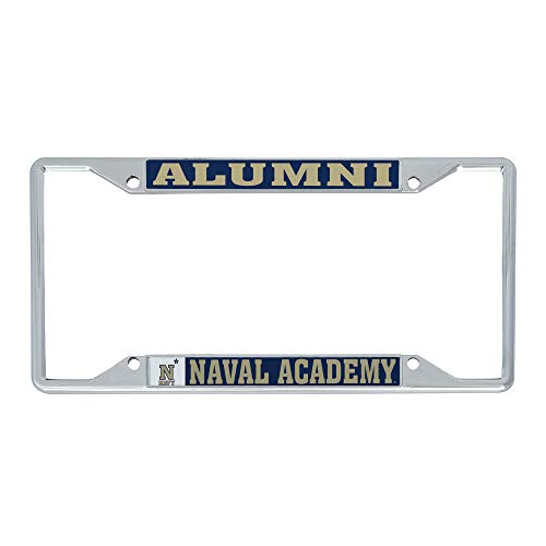 Desert Cactus United States Naval Academy USNA Midshipmen NCAA Navy Metal License Plate Frame For Front Back of Car Officially Licensed (Alumni)