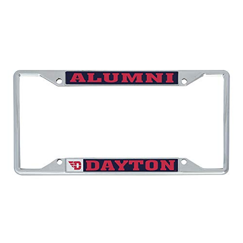 University of Dayton Flyers NCAA Metal License Plate Frame For Front Back of Car Officially Licensed (Alumni)
