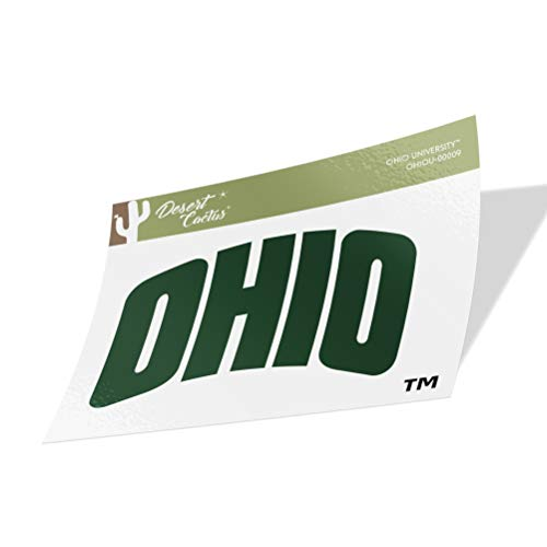 Ohio University Bobcats NCAA Vinyl Decal Laptop Water Bottle Car Scrapbook (Sticker - 00009)
