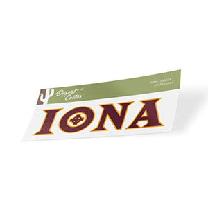 Iona College Gaels NCAA Vinyl Decal Laptop Water Bottle Car Scrapbook (Sticker - 00004)