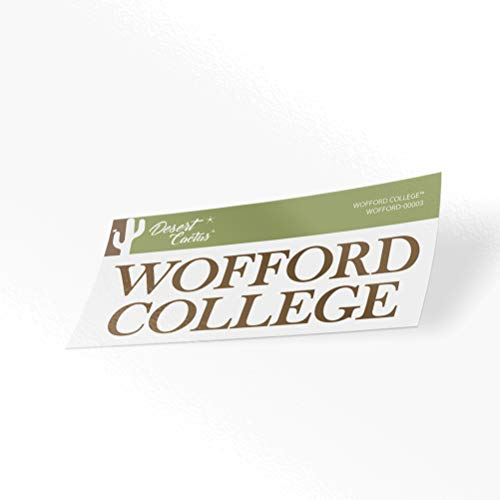 Wofford College Terriers NCAA Vinyl Decal Laptop Water Bottle Car Scrapbook (Sticker - 00003)