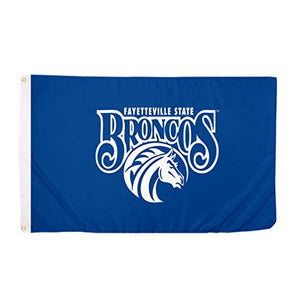 Fayetteville State University FSU Broncos NCAA 100% Polyester Indoor Outdoor 3 feet x 5 feet Flag