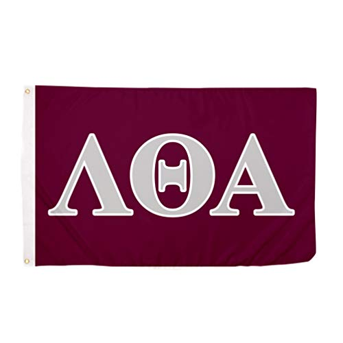 Lambda Theta Alpha Letter Sorority Flag Greek Banner Large 3 feet x 5 feet Sign Decor