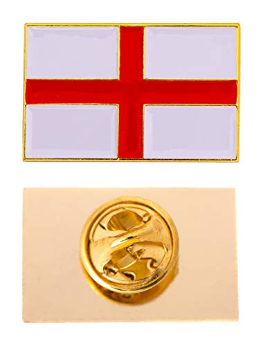 England Country Rectangle Flag Lapel Pin Enamel Made of Metal Souvenir Hat Men Women Patriotic
