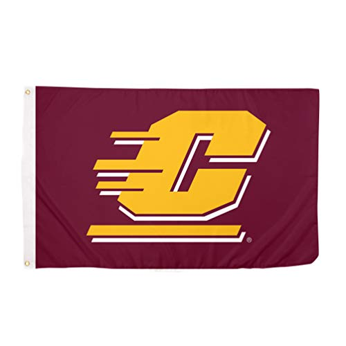 Desert Cactus Central Michigan University CMU Chippewas NCAA 100% Polyester Indoor Outdoor 3 feet x 5 feet Flag