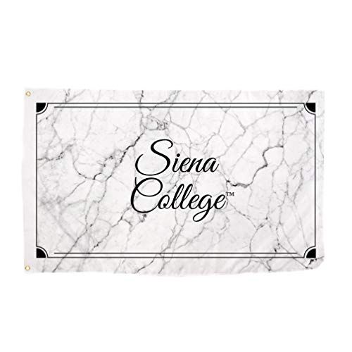 Desert Cactus Siena College Saints NCAA 100% Polyester Indoor Outdoor 3 feet x 5 feet Sign Decor (Marble Flag)