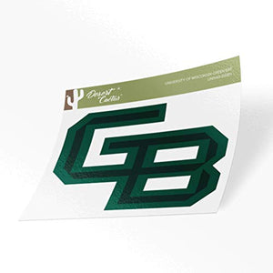 University of Wisconsin-Green Bay UWGB Phoenix NCAA Vinyl Decal Laptop Water Bottle Car Scrapbook (Sticker - 00001)