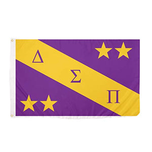 Desert Cactus Delta Sigma Pi Chapter/Main Fraternity Flag Greek Letter Banner Large 3 feet x 5 feet Sign Decor