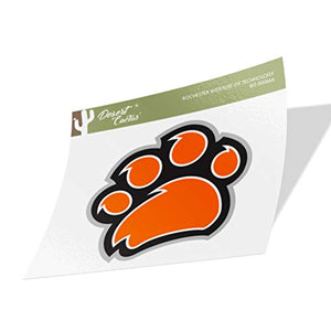 Rochester Institute of Technology RIT Tigers NCAA Vinyl Decal Laptop Water Bottle Car Scrapbook (Sticker - 00066A)