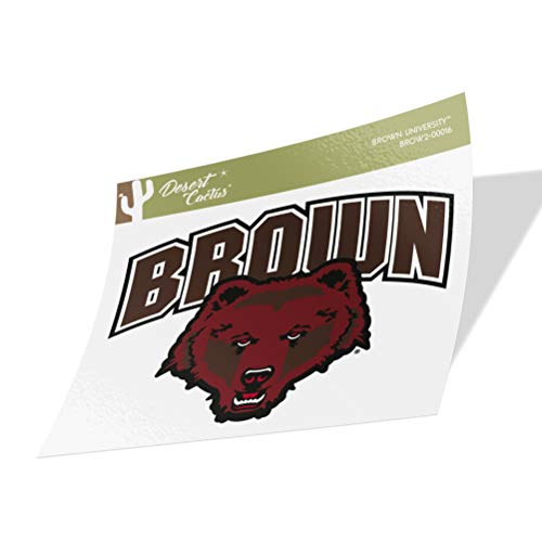 Brown University Bears NCAA Vinyl Decal Laptop Water Bottle Car Scrapbook (Sticker - 00016)