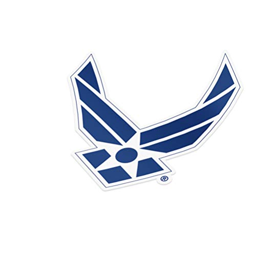 United States Air Force (USAF) Emblem Logo Vinyl Decal Laptop Water Bottle Car Scrapbook Licensed US (Sticker - #2)