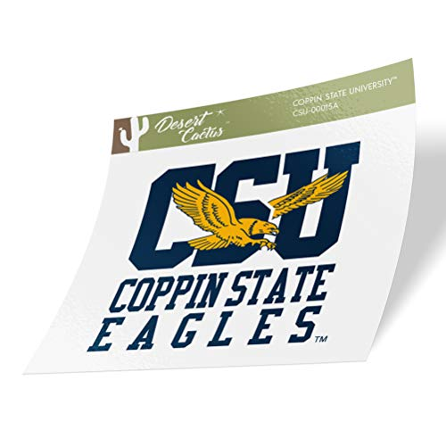 Coppin State University CSU Eagles NCAA Vinyl Decal Laptop Water Bottle Car Scrapbook (Sticker - 00015A)