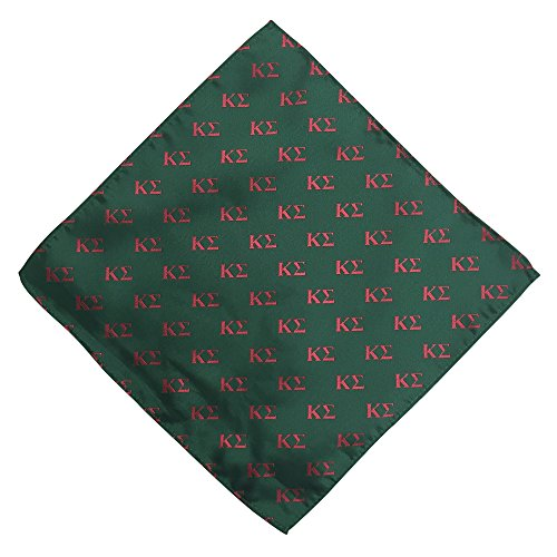 Kappa Sigma Fraternity Greek Formal Occasion Standard Length Width Hanky Pocket Square Kappa Sig (Letter Hanky)