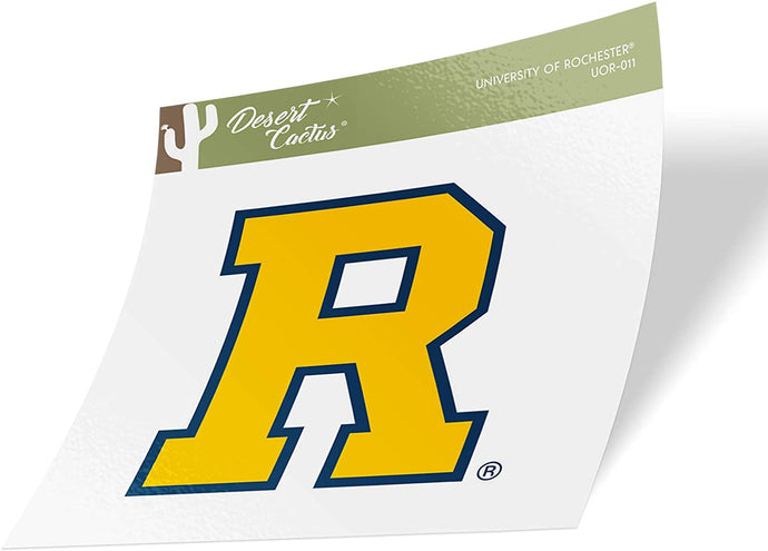 University of Rochester Yellowjackets NCAA Vinyl Decal Laptop Water Bottle Car Scrapbook (Sticker - 011)